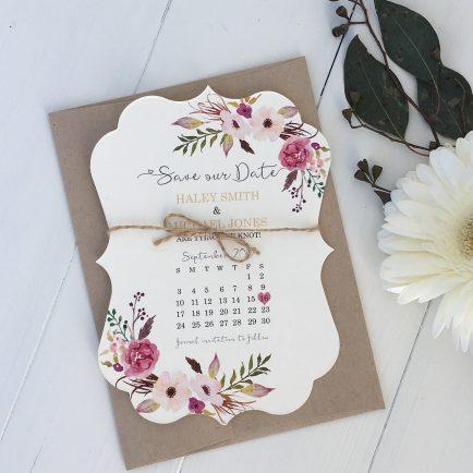 Save the Date kort til bryllup, Little Mama Shop