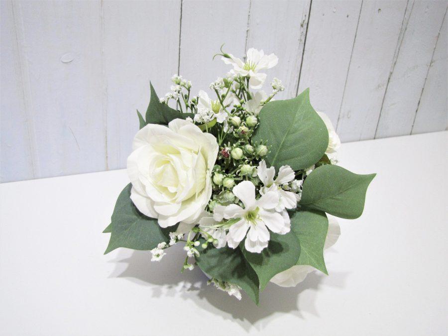 Blomsterpike Bukett, Hvite Roser